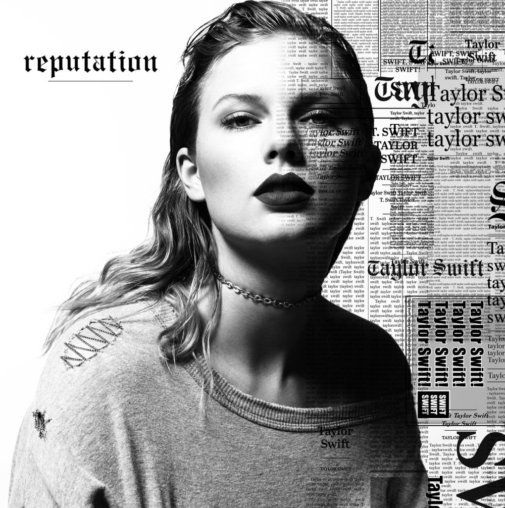 Taylor Swift reputation cover art